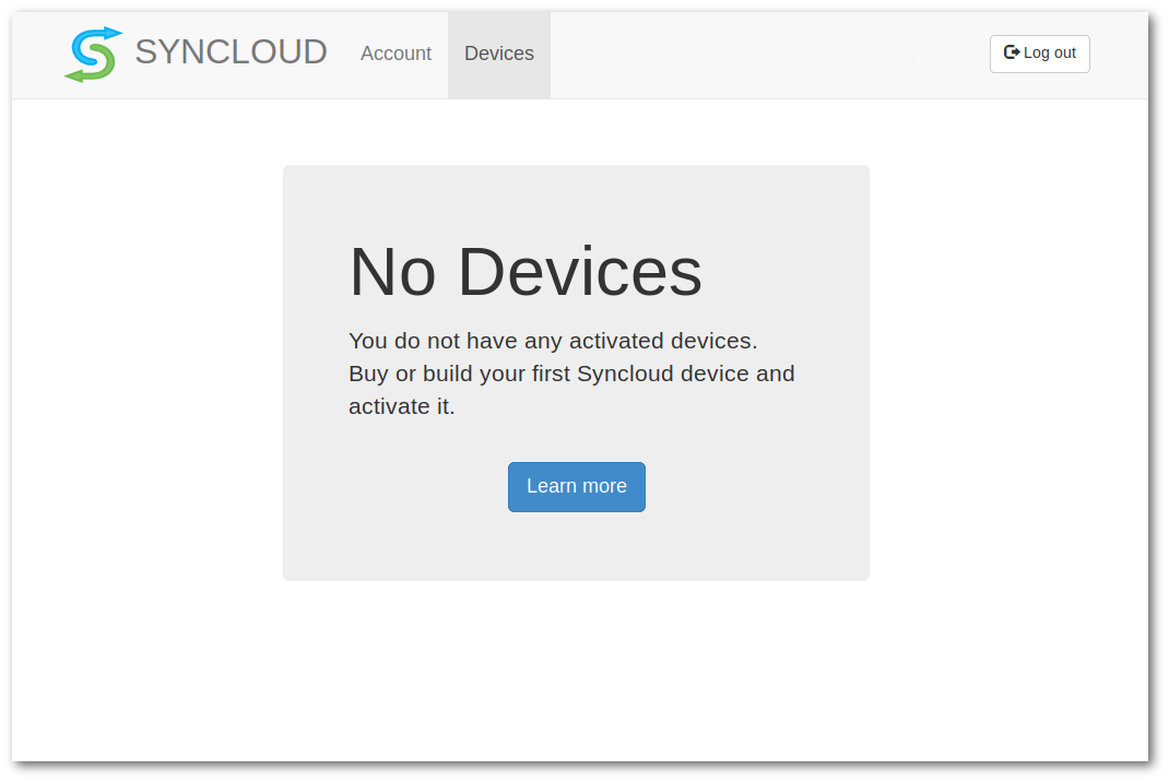 Syncloud Add Device