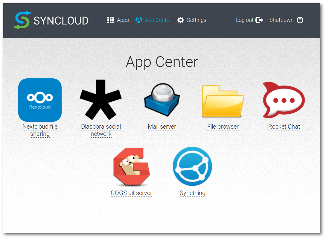 Syncloud Applications