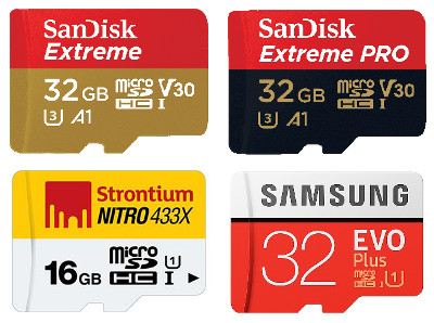 Recommended SDcard